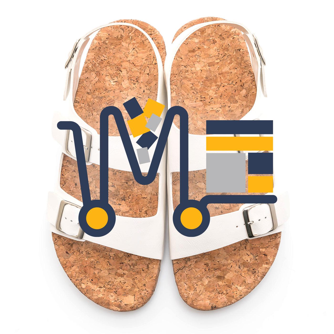 Sandale din piele cu catarame (d